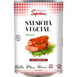 Salsicha vegetal Superbom